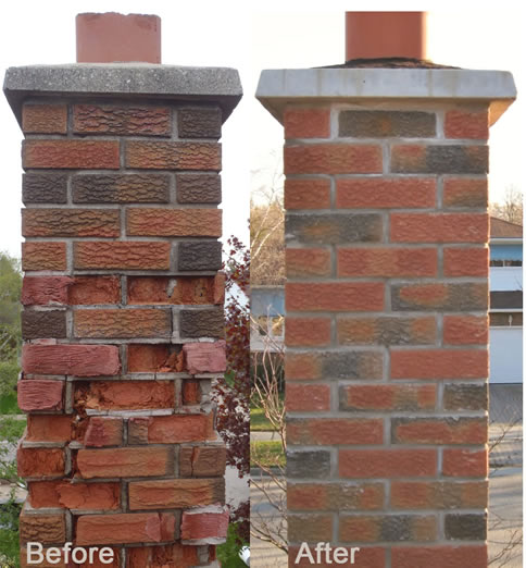 Chimney Masonry Repair Downriver Michigan The