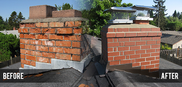 Chimney Repair In Trenton Michigan The Downriver Roofing Company