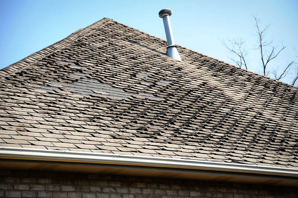 Replace Missing Hip Or Ridge Shingles Downriver Michigan