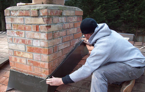 Chimney Repair In Grosse Ile Mi The Downriver Roofing