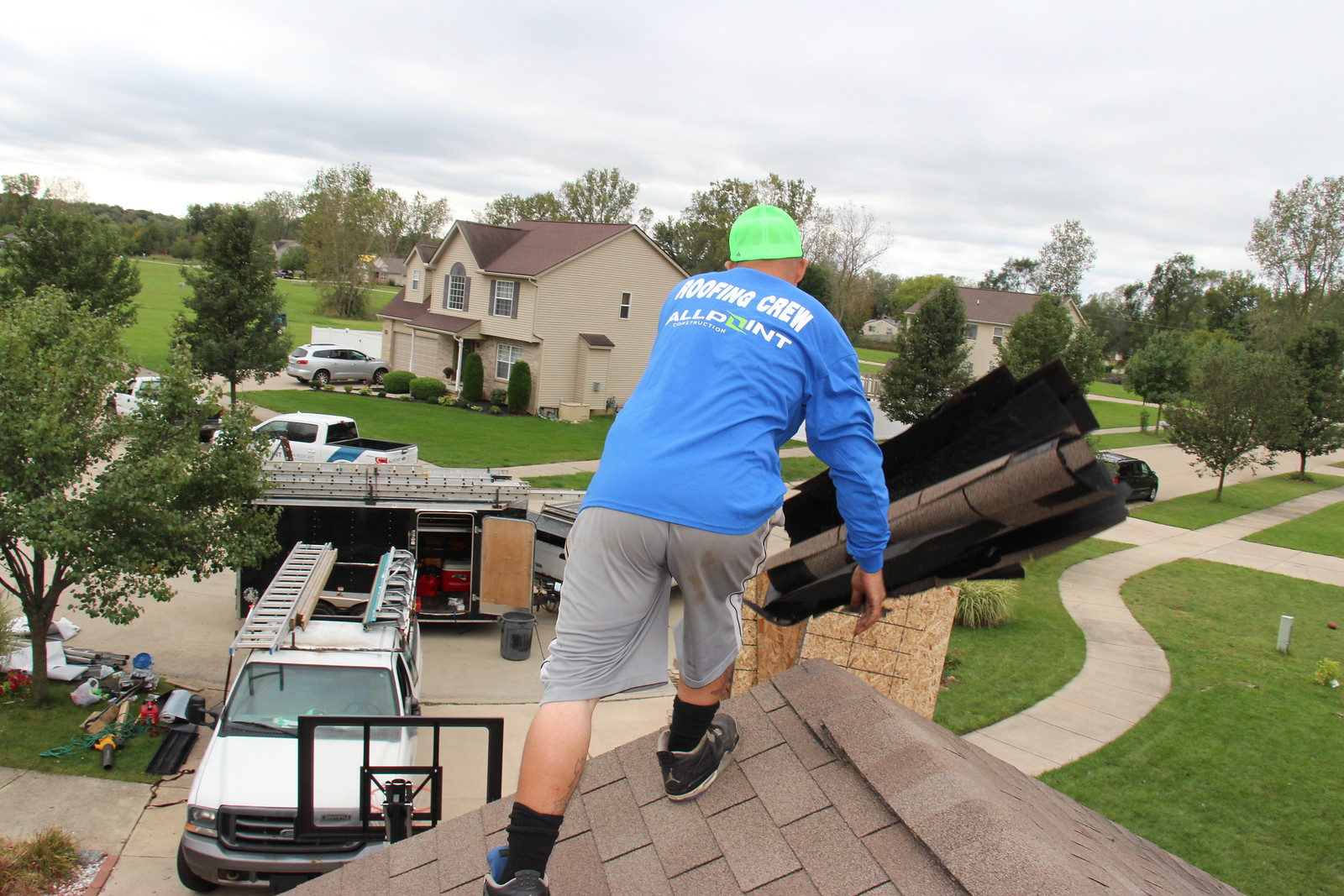 Brownstown Michigan Downriver Roofers